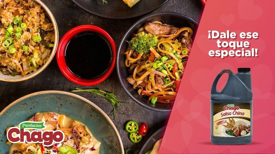 Utiliza el sabor de la Salsa China de Chago.😋🍲