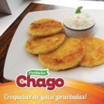 Croquetas de Yuca con Queso